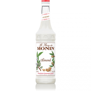 Monin Almond (Orgeat) Syrup (750mL), H-Almond