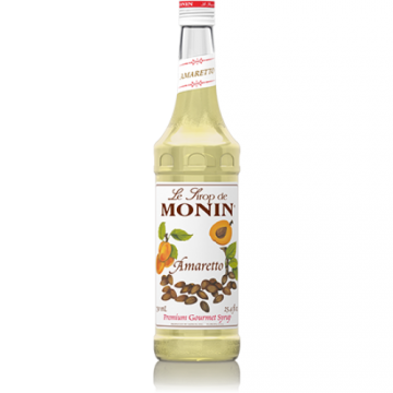 Monin Amaretto Syrup (750mL), H-Amaretto