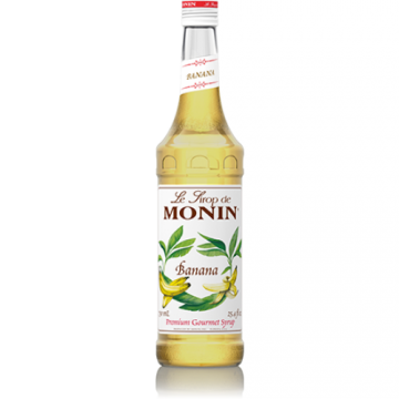 Monin Banana Syrup (750mL), H-Banana