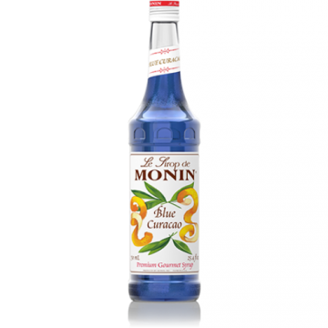 Monin Blue Curacao Syrup (750mL)