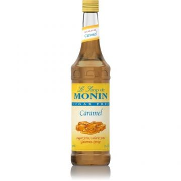 Monin Sugar Free Caramel Syrup (750mL), H-Caramel-sf