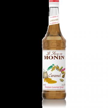 Monin Caramel Syrup (750mL), H-Caramel