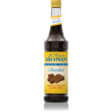 Monin Sugar Free Chocolate Syrup (750mL), H-Chocolate-sf