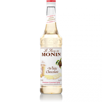Monin White Chocolate Syrup (750mL), H-Chocolate, White