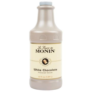 Monin White Chocolate Sauce (64oz), H-Chocolate-WMS