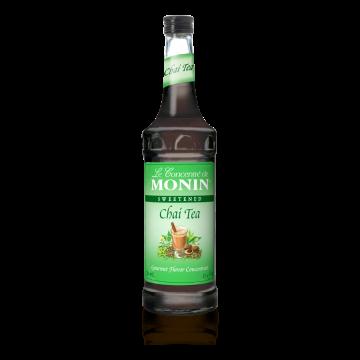 Monin Chai Tea Concentrate Syrup (750mL), H-Concentrate, Chai Tea
