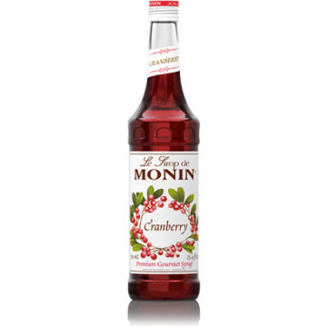 Monin Cranberry Syrup (750mL)