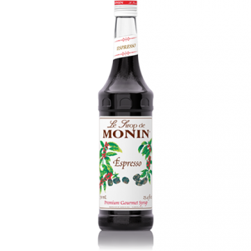 Monin Espresso Syrup (750mL), H-Espresso