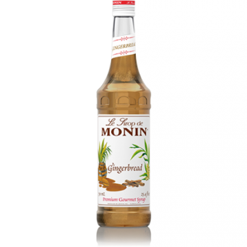 Monin Gingerbread Syrup (750mL), H-Gingerbread