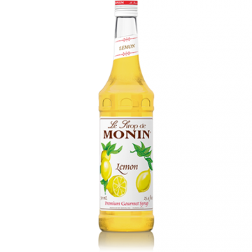 Monin Lemon Syrup (750mL), H-Lemon