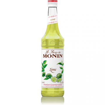 Monin Lime Syrup (750mL), H-Lime
