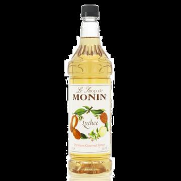 Monin Lychee Syrup (1L), H-Lychee, 1.0L