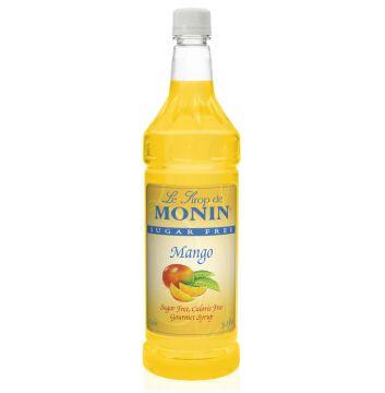 Monin Sugar FREE Mango Syrup (1 Liter)