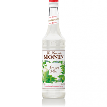 Monin Frosted Mint Syrup (750mL), H-Mint Frosted