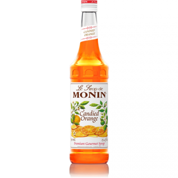 Monin Candied Orange Syrup (750mL), H-Orange, Candied