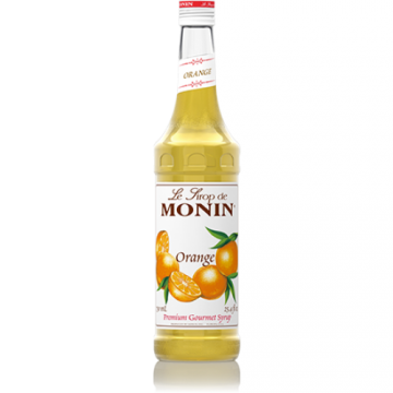 Monin Orange Syrup (750mL), H-Orange