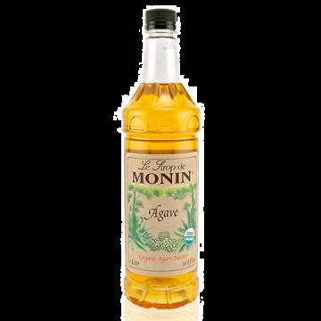Monin Agave Nectar Organic Sweetener Syrup (1L), H-Organic, Agave Nectar 1.0L