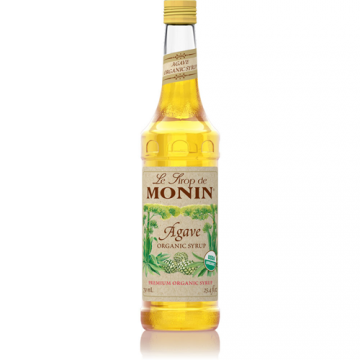 Monin Agave Nectar Organic Sweetener Syrup (750 mL), H-Organic, Agave Nectar