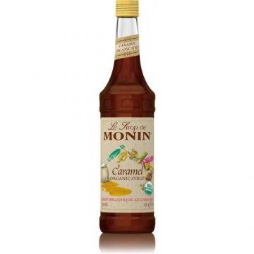 Monin Caramel Organic Syrup (750mL), H-Organic, Caramel