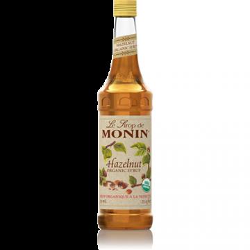 Monin Hazelnut Organic Syrup (750mL), H-Organic, Hazelnut