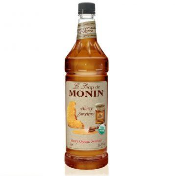 Monin Organic Honey Sweetener Syrup (1L)