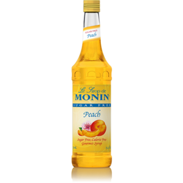 Monin Sugar Free Peach Syrup (750mL)