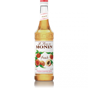 Monin Peach Syrup (750mL), H-Peach
