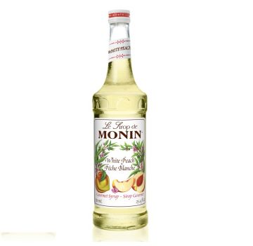 Monin White Peach Syrup 1.0 Liter