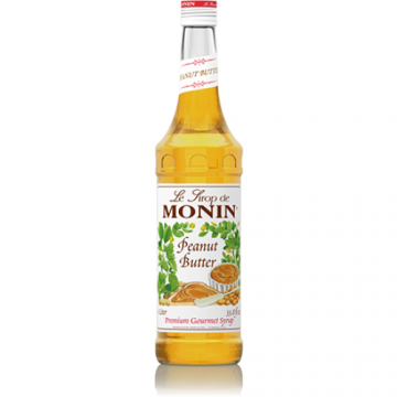 Monin Peanut Butter Syrup (750mL), H-Peanut Butter