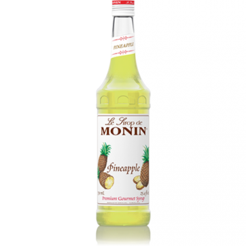 Monin Pineapple Syrup (750mL), H-Pineapple