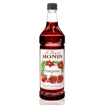 Monin Pomegranate Syrup (1L), H-Pomegranate, 1.0L