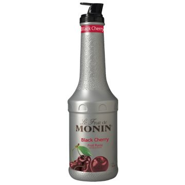 Monin Black Cherry Fruit Puree (1L), H-Puree, Black Cherry