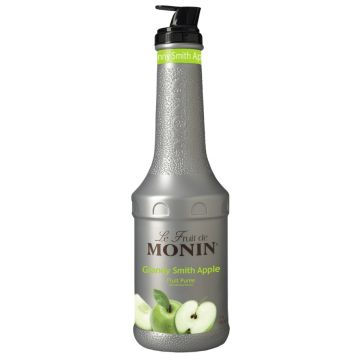 Monin Granny Smith Apple Fruit Puree (1L), H-Puree, Granny Smith Apple