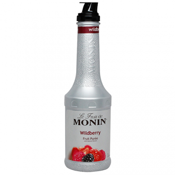 Monin Wildberry Fruit Puree (1L), H-Puree, Wildberry