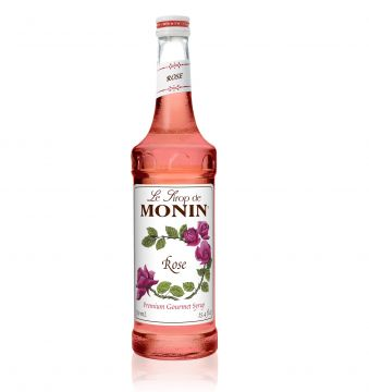 Monin Rose Syrup (750mL), H-Rose