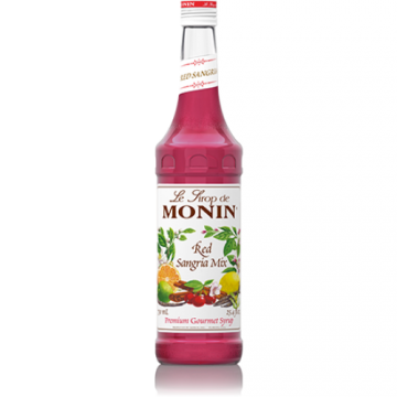 Monin Red Sangria Mix Syrup (750mL), H-Sangria Mix, Red