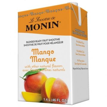 Monin Mango Fruit Smoothie Mix (46oz), H-Smoothie, Mango