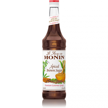 Monin Spiced Brown Sugar Syrup (750mL), H-Spiced Brown Sugar