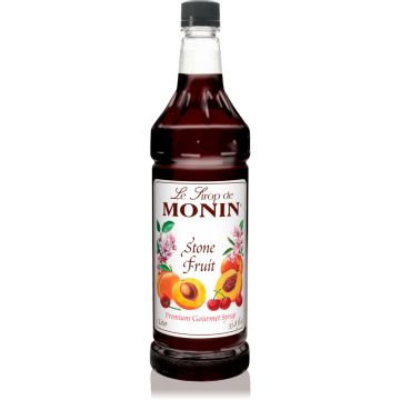 Monin Stone Fruit Syrup (1L), H-Stone Fruit, 1.0L