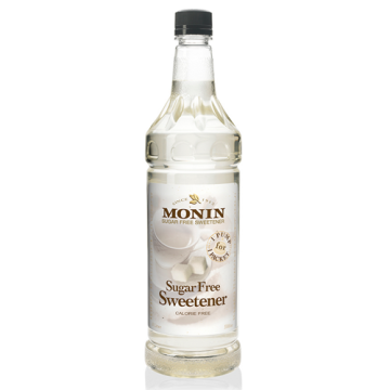 Monin Sugar Free Sweetener Syrup (1L), H-Sweetener, 1.0L- sf