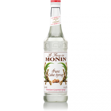 Monin Pure Cane Sweetener Syrup (750mL), H-Sweetener, Pure Cane