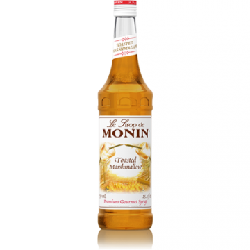Monin Toasted Marshmallow Syrup (750mL), H-Toasted Marshmallow