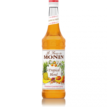 Monin Tropical Blend Syrup (750mL), H-Tropical Blend