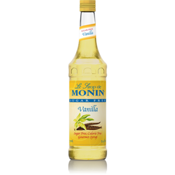 Monin Sugar Free Vanilla Syrup (750mL), H-Vanilla-sf