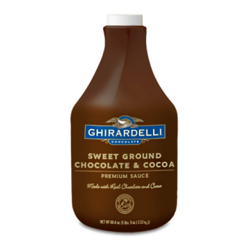 Ghirardelli Sweet Ground Chocolate  Cocoa Sauce (64 fl oz), I-Chocolate-S