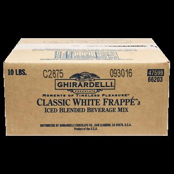 Ghirardelli Classic White Frappe (10 lbs)