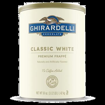 Ghirardelli Classic White Frappe (3.12 lbs)