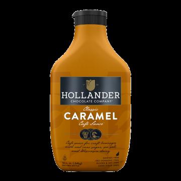 Hollander Classic Koffiebar Caramel Sauce (14 fl oz), J-Caramel-S (14oz bottle)
