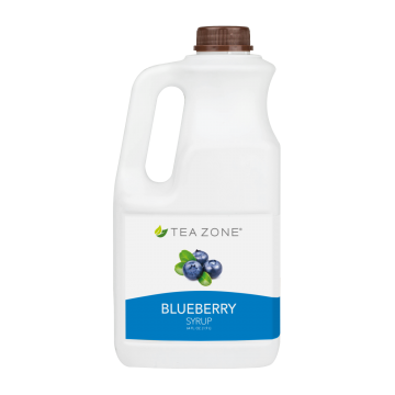 Tea Zone Blueberry Syrup (64oz)