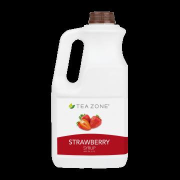 Tea Zone Strawberry Syrup (64oz)